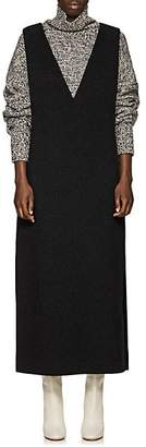 The Row Women's Neila Cashmere-Wool Dress - Charcoal