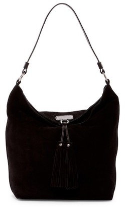 Frye Clara Suede Leather Hobo $398 thestylecure.com