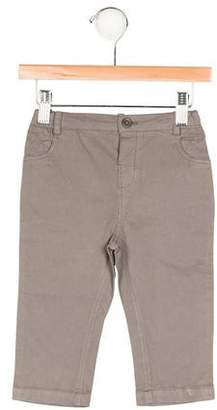 Marie Chantal Boys' Flat Front Four Pocket Pants