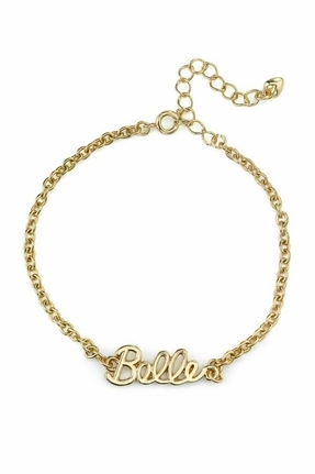 Belle Noel by Kim Kardashian 14KT Gold Belle Bracelet