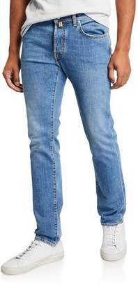 Jacob Cohen Men's Medium-Wash Straight-Leg Jeans