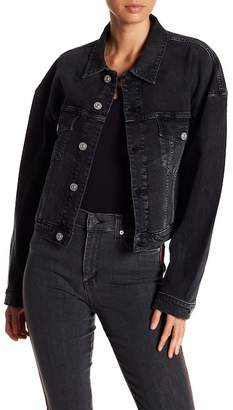 Hudson Jeans REI Cropped Denim Jacket