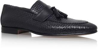 Stemar Tassel Penny Woven Leather Loafer