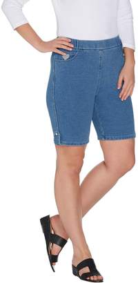 Factory Quacker DreamJeannes Pull-On Shorts with Button Detail