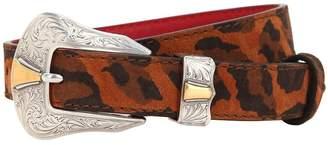 Kate Cate 26mm Leopard Print Cowgirl Belt