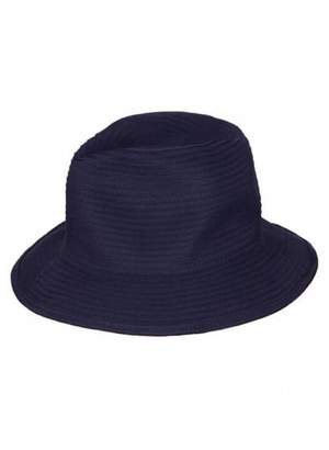 Baku Plain Ribbon Curbside Hat