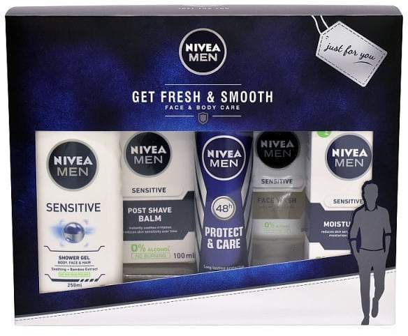 Men Fresh and Smooth Face and Body Care Gift Set