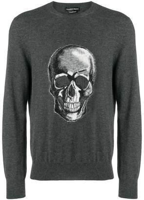 Alexander McQueen skull-intarsia sweater