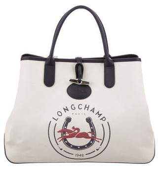 Longchamp Large Roseau 1948 Tote