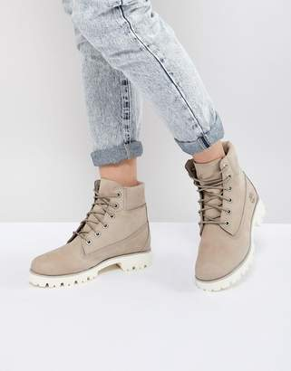 Timberland 6 Inch Light Heritage Flat Boots