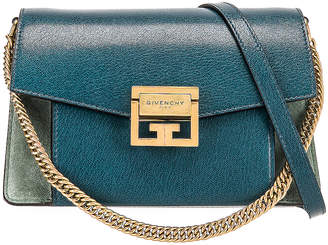 Givenchy Small Leather GV3 in Blue & Pistachio | FWRD