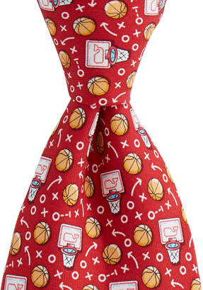 Vineyard Vines Boys Basketball Pick & Roll Tie