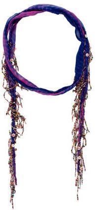 Chan LuuChan Luu Beaded Tie-Dye Scarf