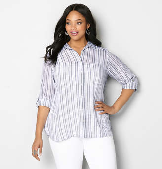 Avenue Mixed Stripe Shirt