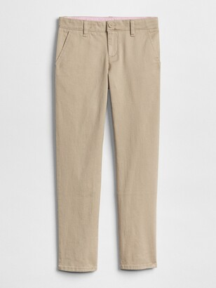 Gap Kids Uniform Skinny Chino Pants in Stretch