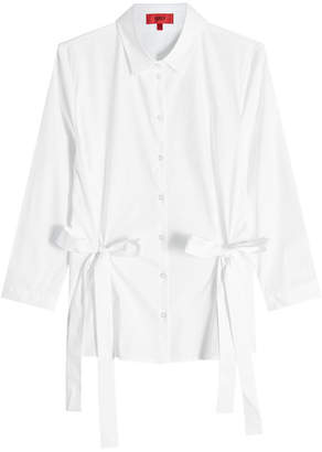 HUGO Cotton Shirt with Bows