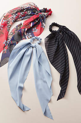 Anthropologie Nantucket Bow-Tied Hair Tie Set