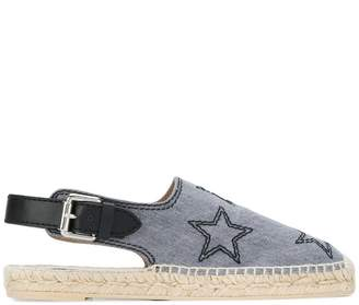 Stella McCartney star embroidered espadrilles