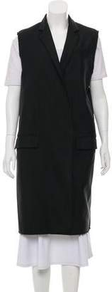 Rag & Bone Woven Waistcoat Vest