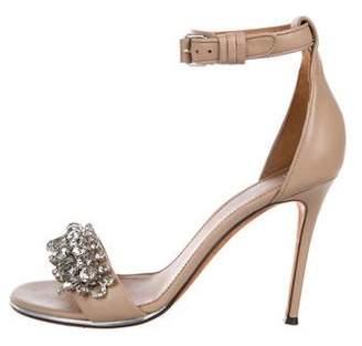 Givenchy Leather Embellished Sandals