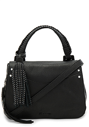 Elizabeth and James Trapeze Crossbody in Black. $495 thestylecure.com