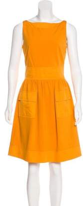Diane von Furstenberg Sleeveless A-Line Dress