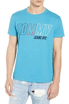 Tommy Jeans Tjm Block Logo Tee