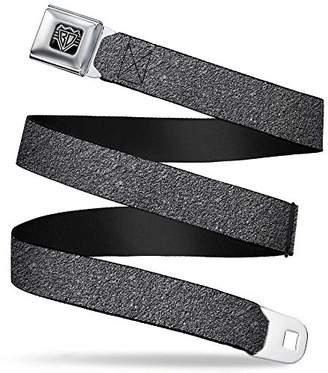 Buckle-Down Unisex-Adults Seatbelt Belt Concrete XL