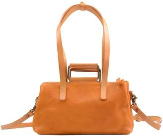 EAZO - Soft Leather Tote In Yellow