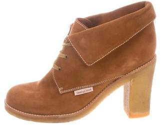 See by Chloe Suede Lace-Up Booties