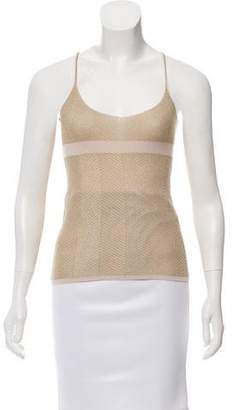 Calvin Klein Sleeveless Metallic Top w/ Tags