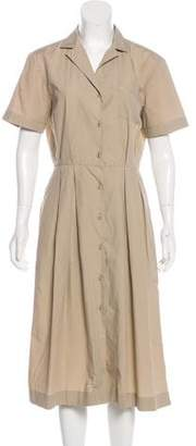 Tomas Maier Midi Short Sleeveless Dress