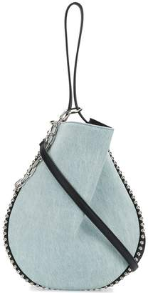 Alexander Wang Denim Roxy Hobo tote bag