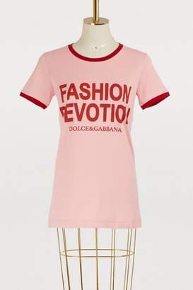 Dolce & Gabbana Fashion Devotion T-shirt
