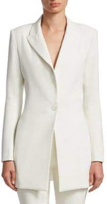Alexis Alto One-Button Blazer