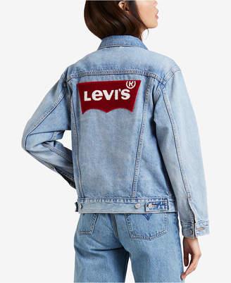 Levi's Cotton Ex-Boyfriend Denim Jacket