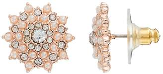 Lauren Conrad Simulated Pearl Starburst Stud Earrings