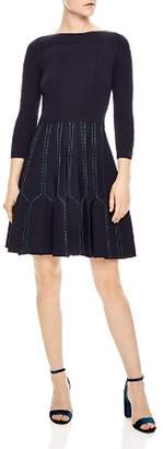 Sandro Fur A-line Dress