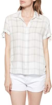 Paige Avery Plaid Shirt