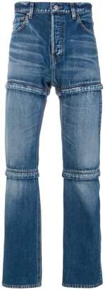 Balenciaga zipped jeans