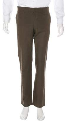 Hermes Flat Front Woven Pants
