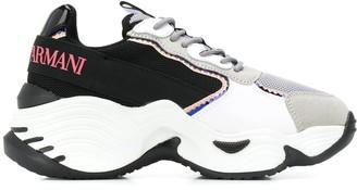 Emporio Armani chunky sole sneakers