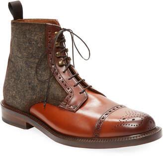 Antonio Maurizi Leather Brogue Boot