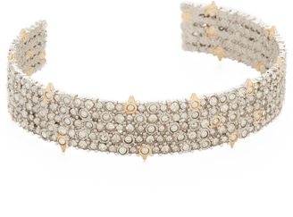 Alexis Bittar Crystal Lace Cuff Bracelet $245 thestylecure.com
