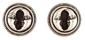 Kieselstein-Cord Moon Clip-On Earrings