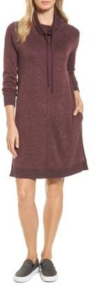 Petite Women's Caslon Sweatshirt Dress $69 thestylecure.com