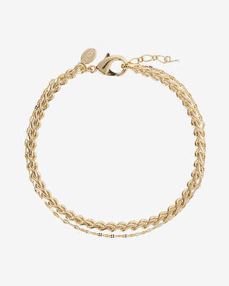 Express Braided Metal Anklet