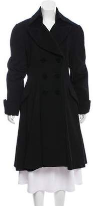 Thierry Mugler Long Double-Breasted Coat