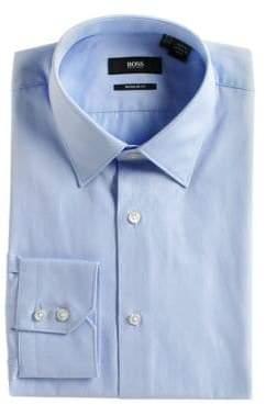 HUGO BOSS Slim Fit Cotton Dress Shirt