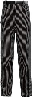 Lanvin Striped wide-leg trouser